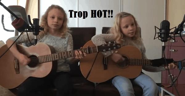 chanson de jumelle à la guitare