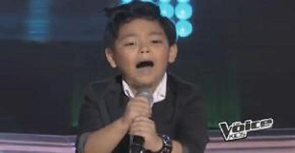 la voix jeune chante vidéo