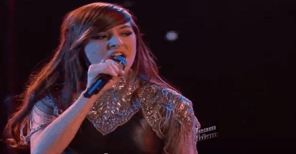 chanteuse qui a une belle voix