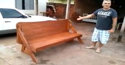 table- banc de parc- invention-