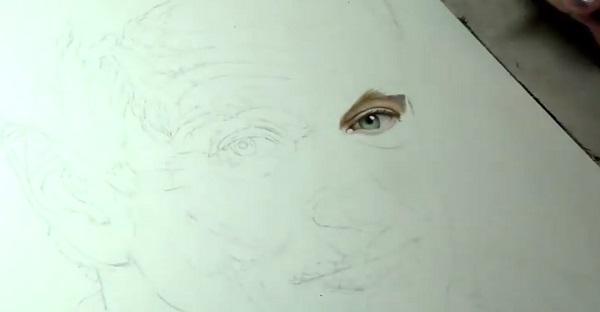 Un hommage à Robin Williams en dessin. Elle est tout simplement INCROYABLE. À VOIR!