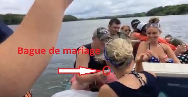 OMG! Une demande en mariage qui tombe à l'eau. OUPS!