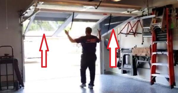 Préférence Une idée géniale pour votre garage. Le moustiquaire coulissant. J  FR66
