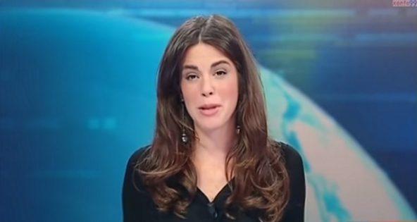 Cette journaliste TV va soudainement affoler des milliers d'hommes. Ce qu'elle montre? Oups!