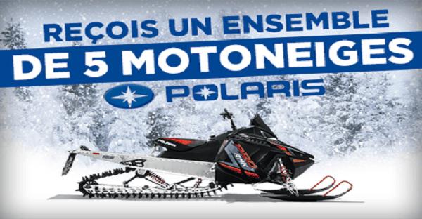 concours moto-neige polaris