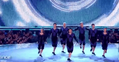 De prodigues danseur offrent une performance