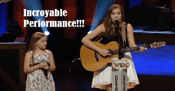 jeune chanteuse en duo incroyable