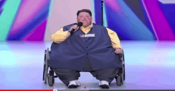 obèse qui chante à the voice