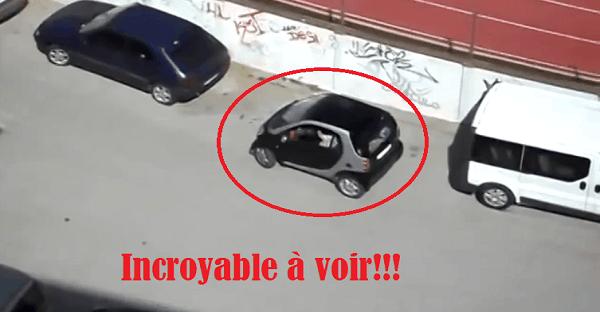 impossible de stationner sa petite voiture