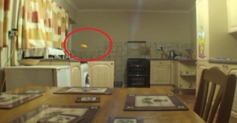 activité paranormal dans une maison