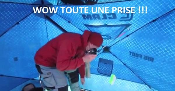OMG! Il capture un record à la pêche sur la glace. ÉNORME !