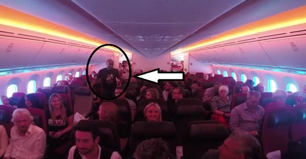 WOW toute une surprise pour les passagers de cet avion. À VOIR ABSOLUMENT!