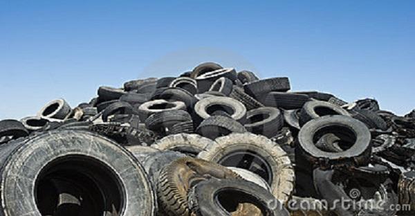 vieux pneus art