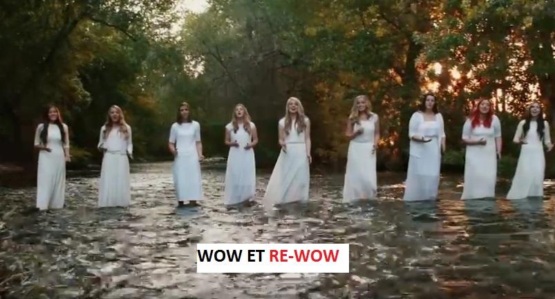 Elles chantent Amazing Grace A CAPPELLA. MAGNIFIQUE À VOIR ET À ENTENDRE!