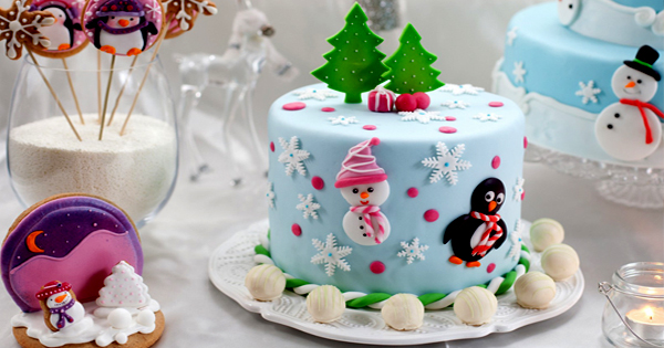 24 superbes gâteaux de Noël juste pour voue WOW!